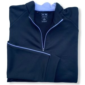 Adidas Golf Climalite 1/4 Zip Pullover.